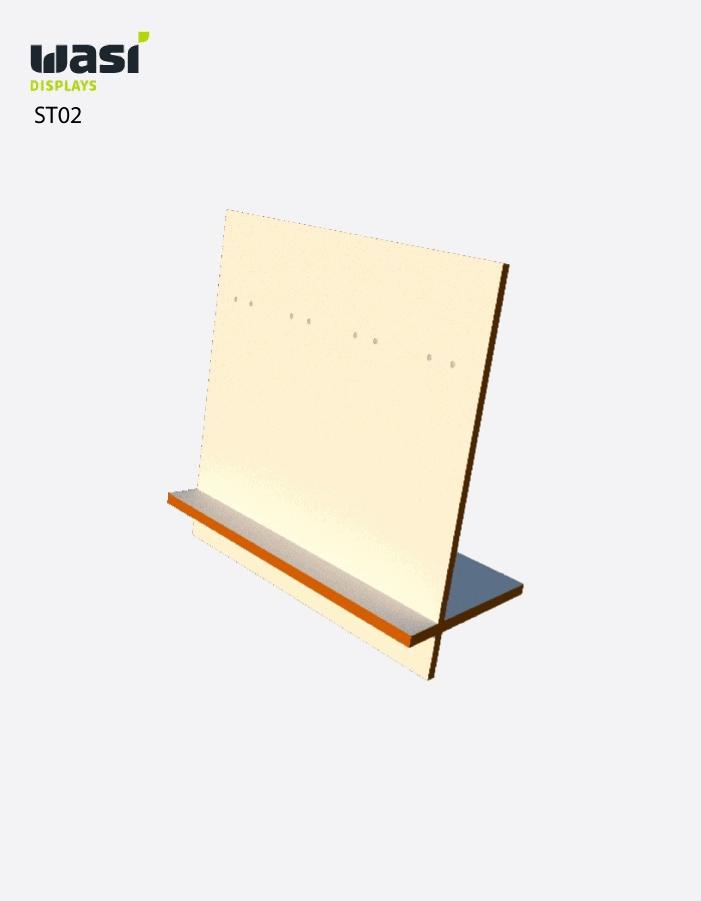 Standardmäßiges Thekendisplay ST02 aus Holz