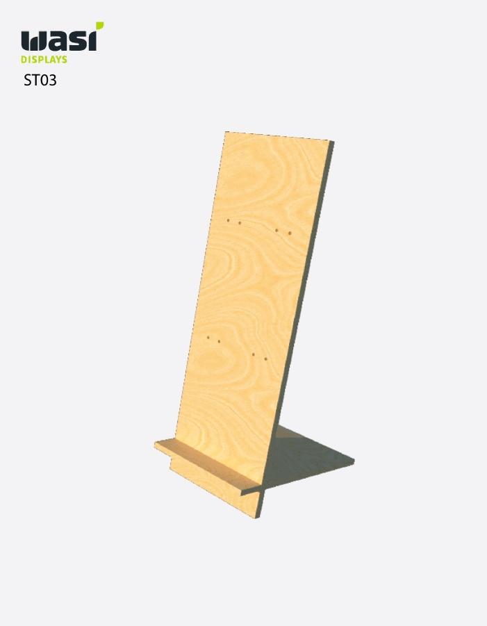 Standard Thekendisplays ST03 aus Holz