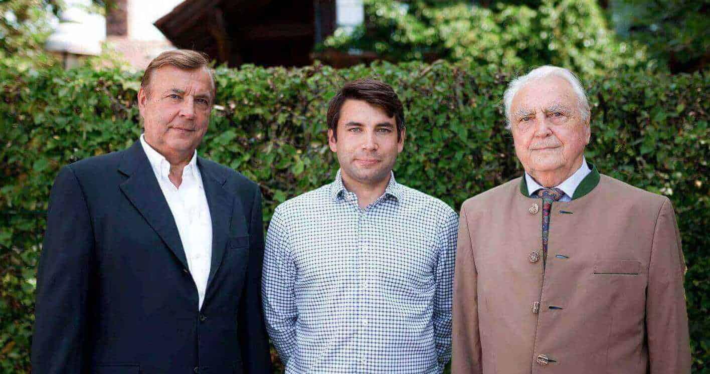 Wasi Displays Geschäftsführer Wilhelm, Johannes und Johannes Sebastian Wasikowski